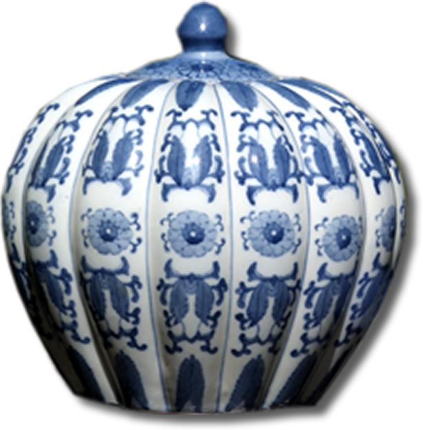 chinese blue white ginger jar with lid zitan. Black Bedroom Furniture Sets. Home Design Ideas